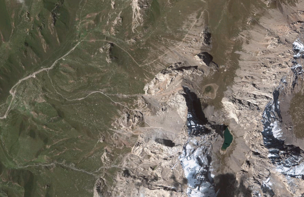 Google Earth Shot of the Hike