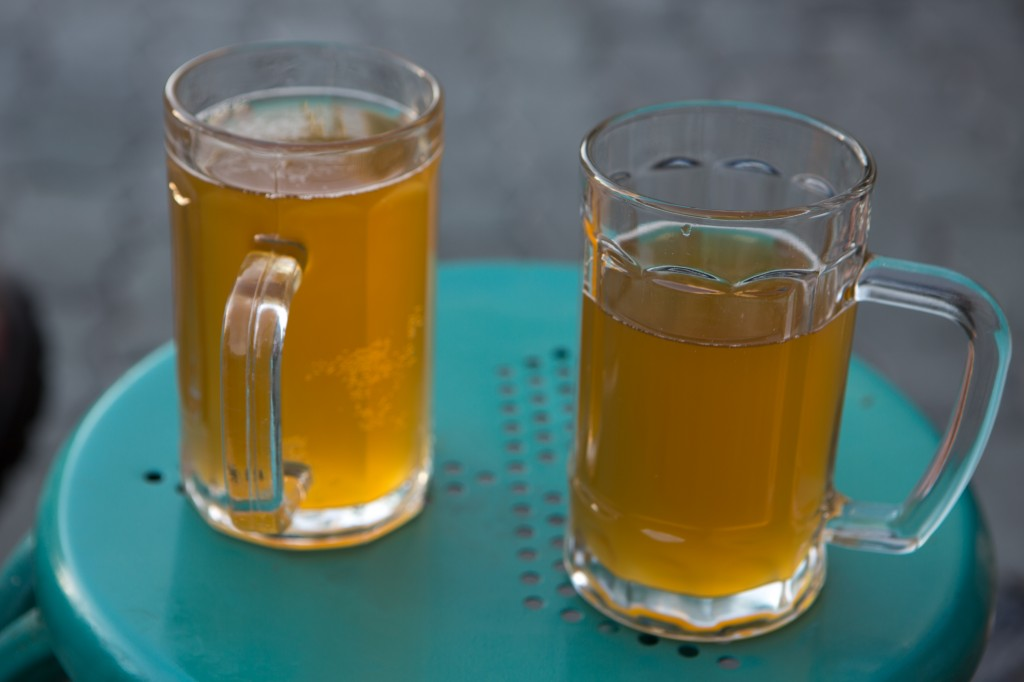 Kvass - a fermented drink from medieval Eastern Europe that has become an important part of Uighur culture.