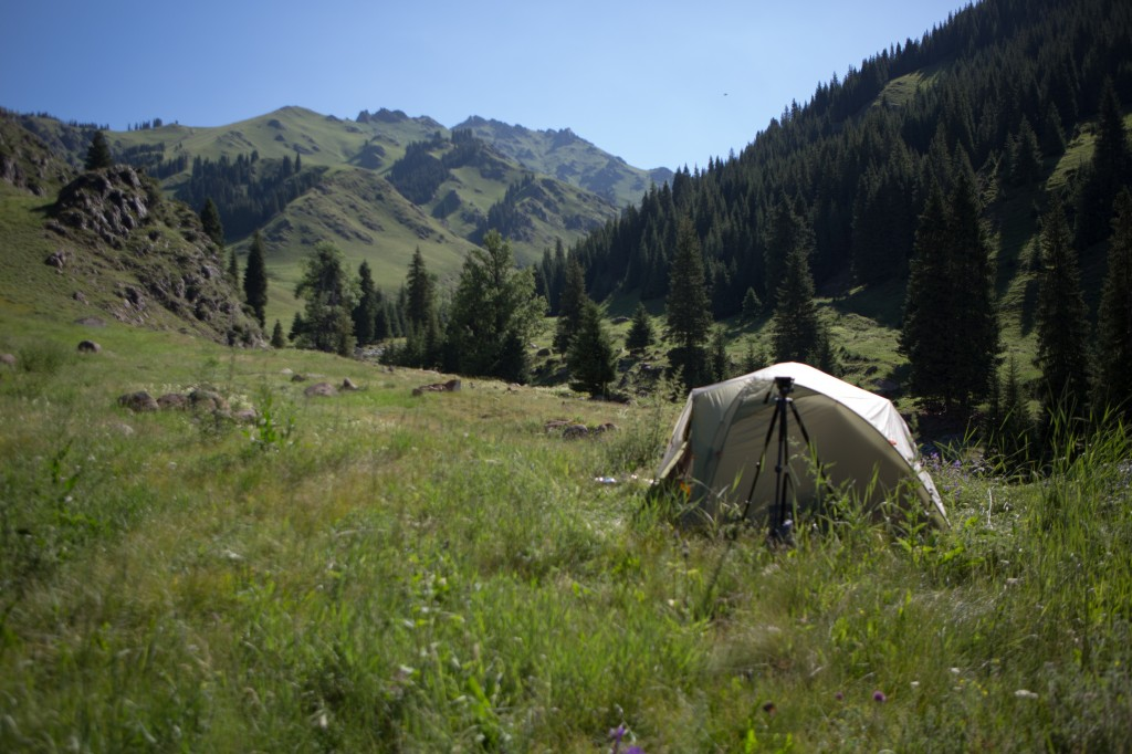 Tent and View