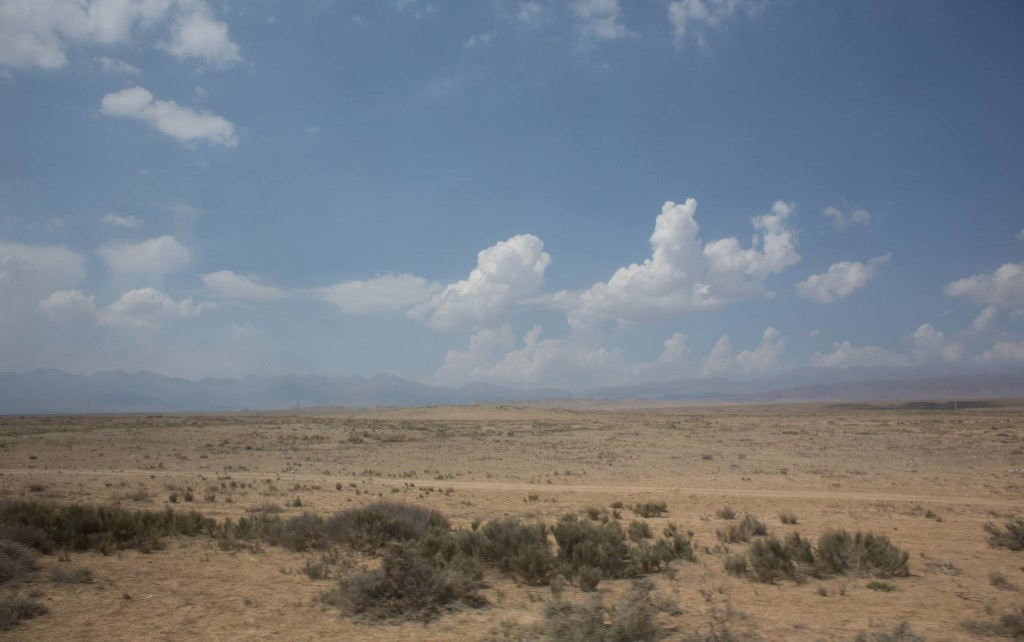 Desert around Issyk-Kul
