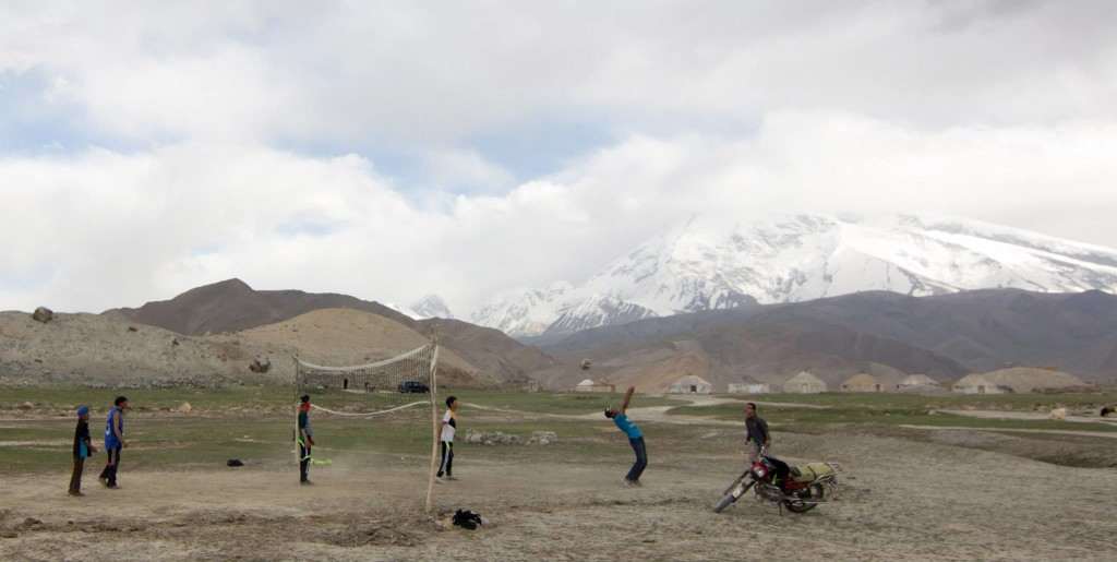 Volleyball on the Sino-Pakistani border
